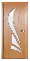 Модель Корона (светлый орех) ПО, межкомнатные двери, Николаев