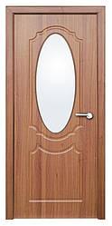 Модель Зеркало (светлый орех) ПО, межкомнатные двери, Николаев