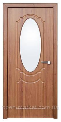 Модель Зеркало (светлый орех) ПО, межкомнатные двери, Николаев, фото 2
