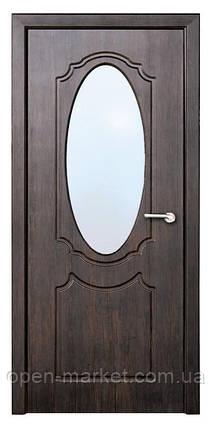 Модель Зеркало (тик) ПО, межкомнатные двери, Николаев, фото 2