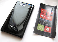 Чехол-бампер Nokia Lumia 820 (Черный)