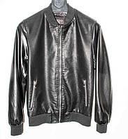 """Куртка мужская стильная кожзам, размеры 48-58 """"WALK"""" купить недорого от прямого поставщика"""