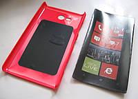 Чехол-бампер Nokia Lumia 820 (Розовый)
