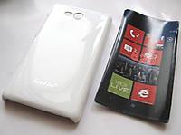 Чехол-бампер Nokia Lumia 820 (Белый)