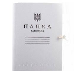 Папка А4 картонная с завязками (6П1) Ш.К. 4820008710017