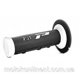 Мото грипсы Pro Grip MX Duo белые для кроссовых мотоциклов  длина 115 мм диаметр 22мм  PG 791 / WHITE
