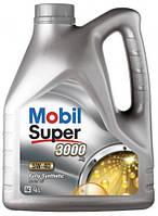 """Автомобильное моторное масло синтетическое """"Mobil""""(Super™ 3000 X1)(5W-40)(4L)"""