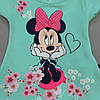 Летний костюм Minnie Mouse для девочки. Маломерит., фото 2