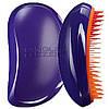 Расческа Tangle Teezer Elite (фиолетовая с оранжевым)