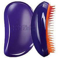 Расческа Tangle Teezer Elite (фиолетовая с оранжевым), фото 1