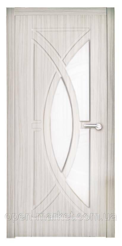 Модель Фантазия (белая береза) ПО, межкомнатные двери, Николаев
