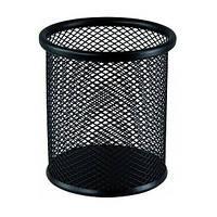 Стакан металевий настіл. чорний Buromax арт. 6202-01 ш.к. 4824004018870