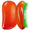 Расческа Tangle Teezer Elite (оранжевая с зеленым)