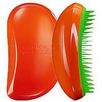 Расческа Tangle Teezer Elite (оранжевая с зеленым), фото 1
