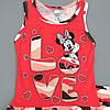 Летний костюм Minnie Mouse для девочки. 98 см, фото 3