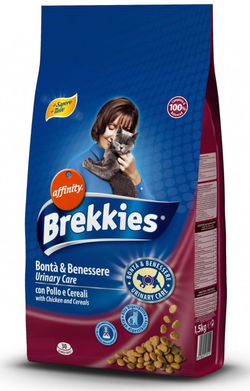 Brekkies Cat Urinary Care для профилактики мочекаменной болезни (20 кг)