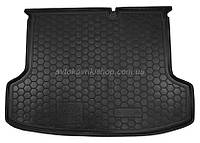 Резиновый коврик багажника Kia Rio 2006- (седан) Avto-Gumm