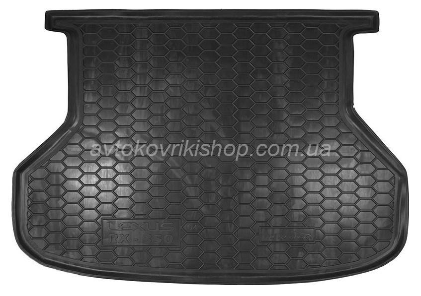 Резиновый коврик багажника Lexus RX-350 2003- Avto-Gumm