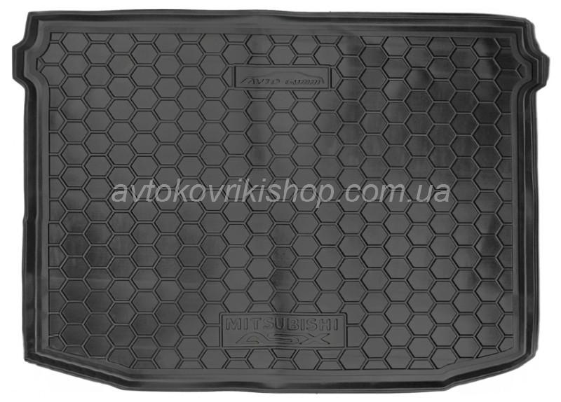 Резиновый коврик багажника Mitsubishi ASX 2010- Avto-Gumm