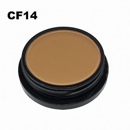 MakeUP Secret Крем тональный компактний CF14 натур беж теплый для очень смуглой кожи (Compact Foundation CF14), 20г