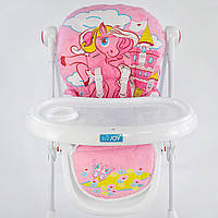 JOY K-73480 стульчик для кормления Pony розовый
