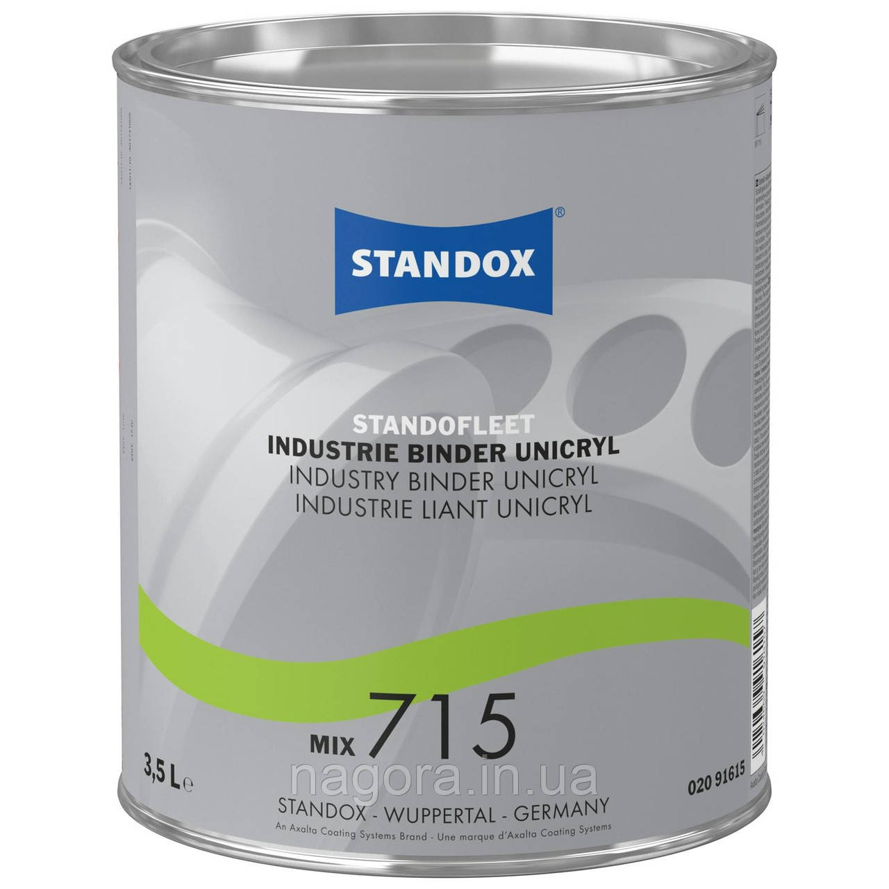 Поліуретанова грунт-емаль Standofleet Industry Unicryl Topcoat, RAL 6002 (John Deere)