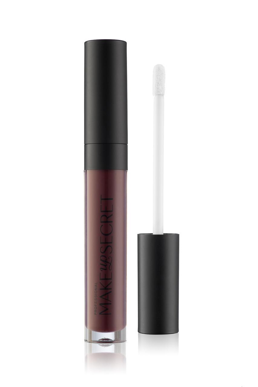 MakeUP Secret Ультрастойкая матовая жидкая помада LPT18 (Lip Paint LPT18) черничный