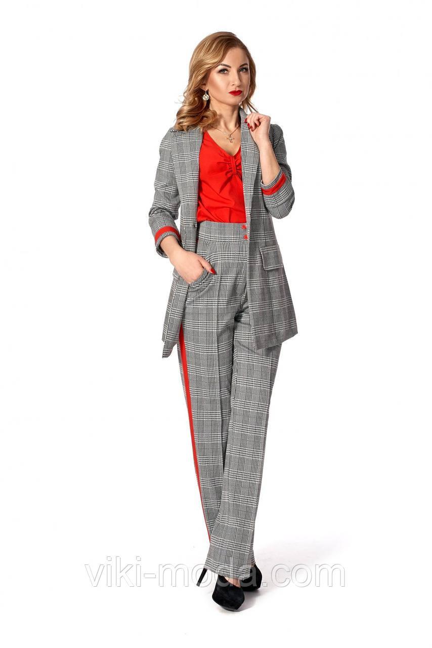Стильный женский костюм-тройка