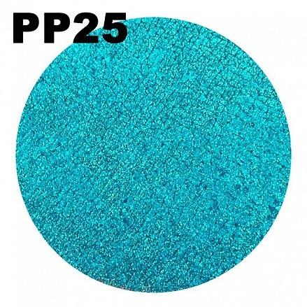 MakeUP Secret Тени рассыпчатые PР25 (Pigment PP25) золотисто-бирюзовый дуохром