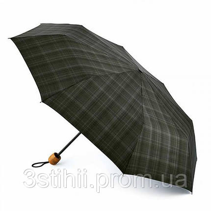 Зонт мужской Fulton G868 Hackney-2 Charcoal Check (Темно-серая клетка), фото 2