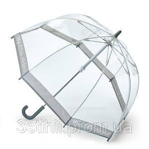 Зонт-трость детский Fulton Funbrella-4 C605 Прозрачный с серебристым