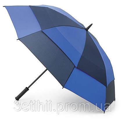 Зонт-гольфер Fulton Stormshield S669 Blue Navy (Голубой Синий), фото 2