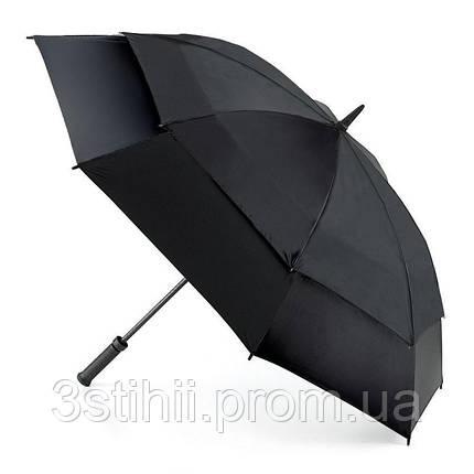 Зонт-гольфер Fulton Stormshield S669 Black (Черный), фото 2