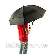 Зонт-гольфер Fulton Stormshield S669 Black (Черный), фото 3