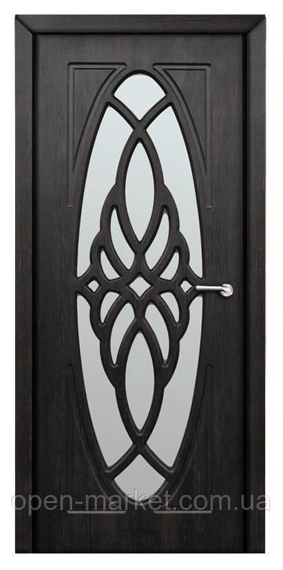 Модель Орхидея (тик) ПО, межкомнатные двери, Николаев