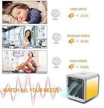 Воздушный охладитель воздуха 3 в 1 Air Cooler портативный кондиционер домашний на воде COOLER cool down кулер