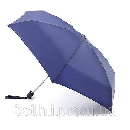 Зонт женский Fulton Tiny-1 L500 Navy механический (Синий), фото 2