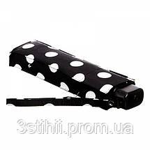 Зонт женский Fulton Miniflat-2 L340 White Spot (Белый горох), фото 3