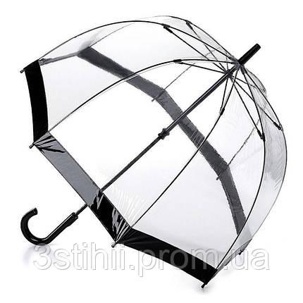 Зонт-трость женский Fulton Birdcage-1 L041 Black (Черный), фото 2