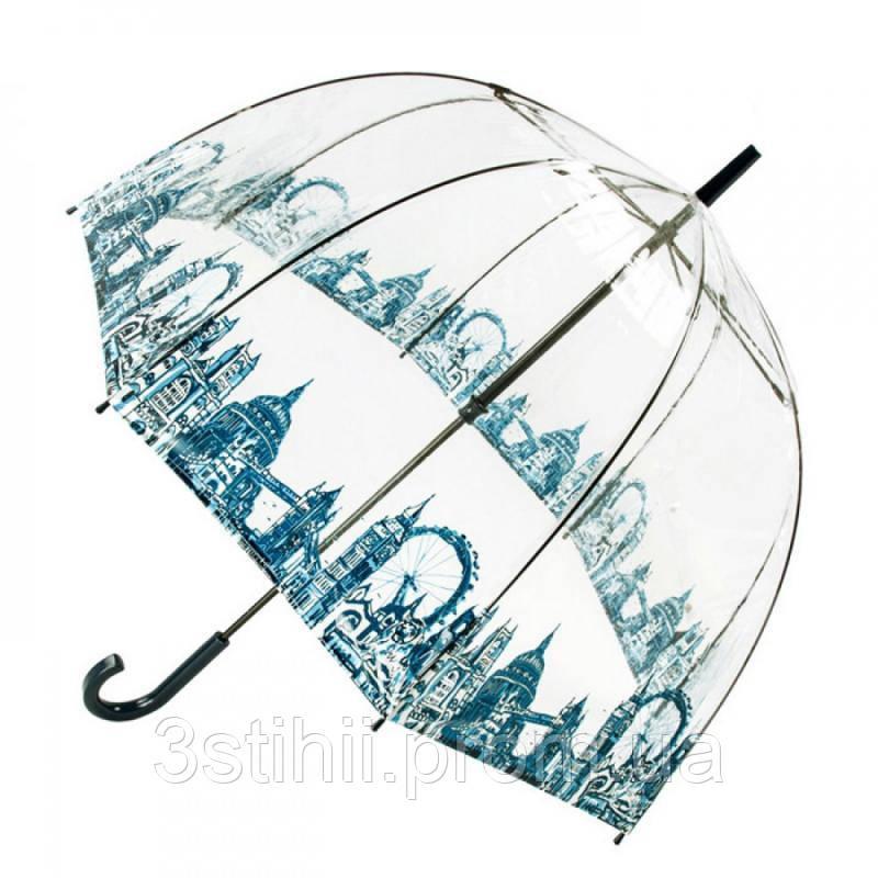 Зонт-трость женский Fulton Birdcage-2 L042 London Icons (Иконки)