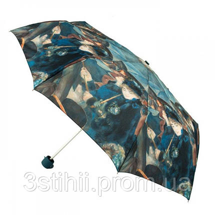 Зонт женский Fulton National Gallery Minilite-2 L849 The Umbrellas (Зонты), фото 2