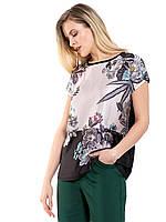 Женская блузка Lc Waikiki / Лс Вайкики с цветочным принтом