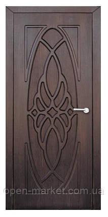 Модель Орхидея (тик) ПГ, межкомнатные двери, Николаев, фото 2