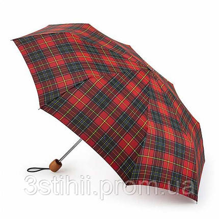 Зонт женский Fulton Stowaway Deluxe-2 L450 Royal Stewart (Королевский Стюарт), фото 2