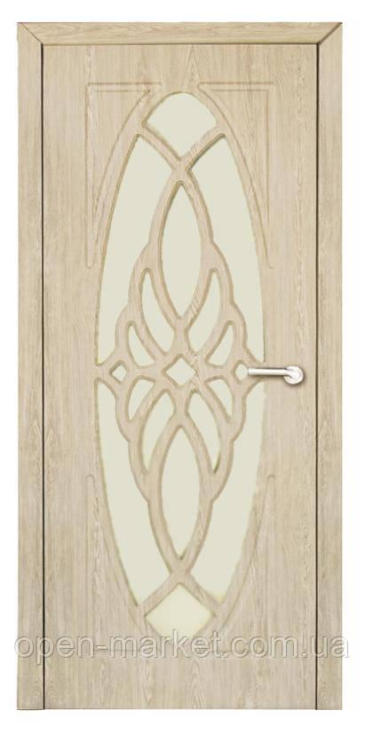 Модель Орхидея (карпатская ель) ПО, межкомнатные двери, Николаев