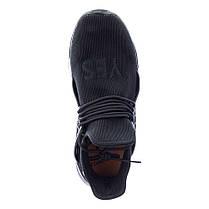 Кроссовки летние Restime PWL19552 BLACK, черные, сетка, фото 2