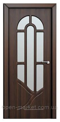 Модель Аркадия (шоколадный орех) ПО, межкомнатные двери, Николаев, фото 2