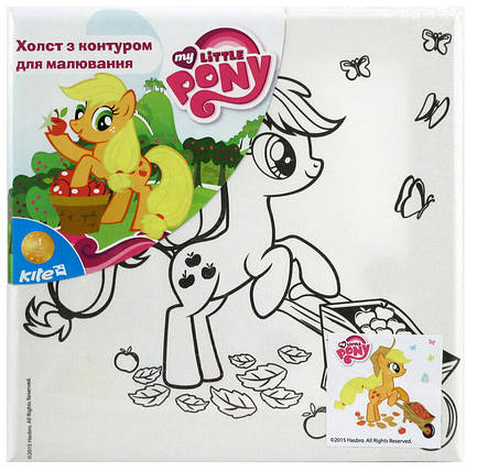 Холст  конутром Kite Little Pony, фото 2