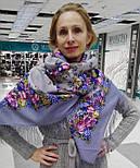 Рябиновые бусы 1193-2, павлопосадский платок шерстяной с шелковой бахромой, фото 3