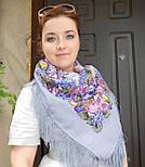 Рябиновые бусы 1193-2, павлопосадский платок шерстяной с шелковой бахромой, фото 4